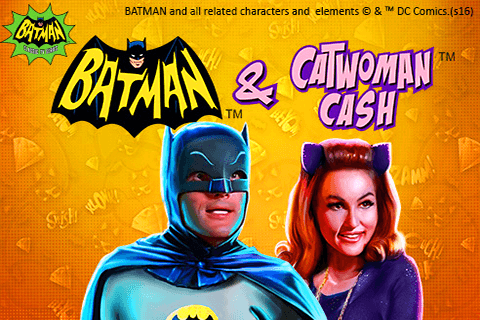 logo batman catwoman cash playtech