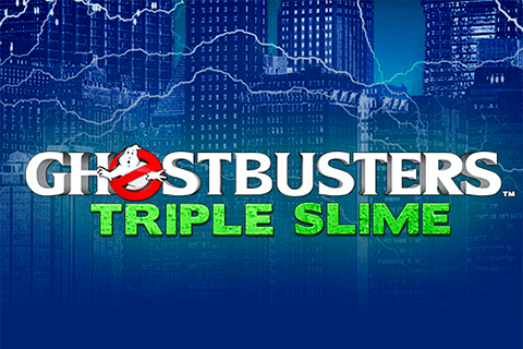 logo ghostbusters triple slime igt