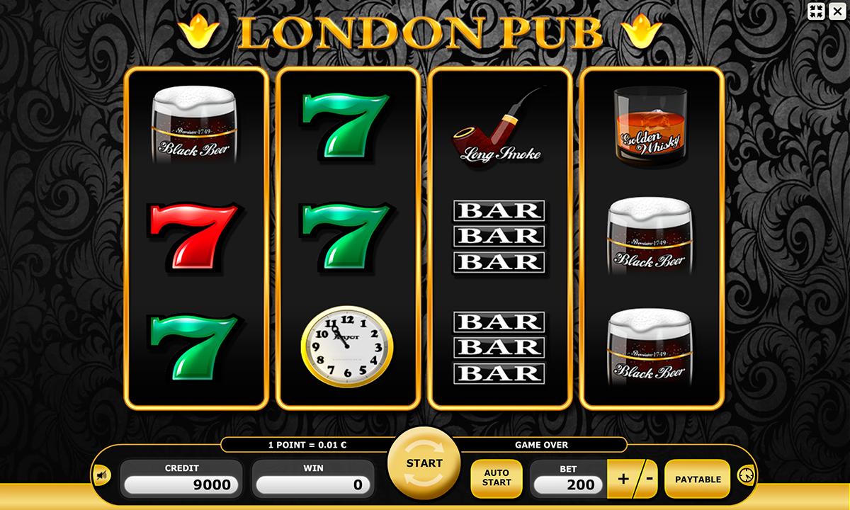 london pub kajot pacanele
