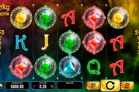 lucky elements synot games pacanele