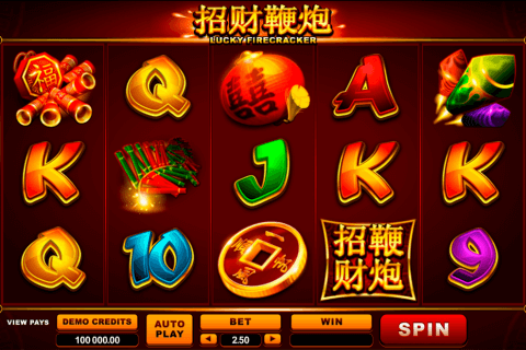 lucky firecracker microgaming pacanele