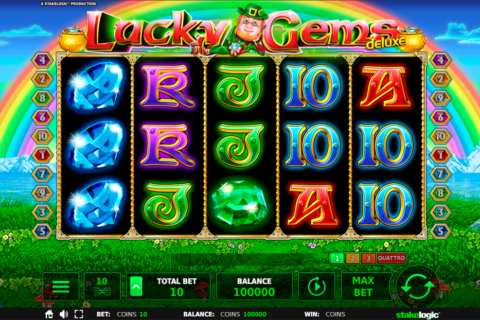lucky gems delue stake logic pacanele