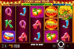 lucky new year pragmatic pacanele