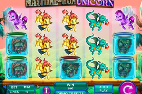 machine gun unicorn genesis pacanele
