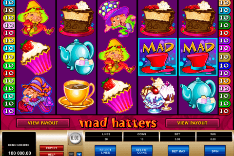 mad hatters microgaming pacanele