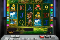 magic forest novomatic pacanele