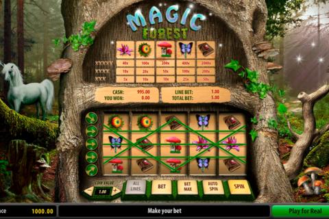 magic forest playson pacanele