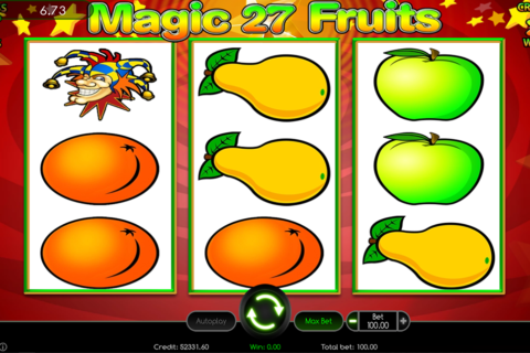 magic fruits  wazdan pacanele