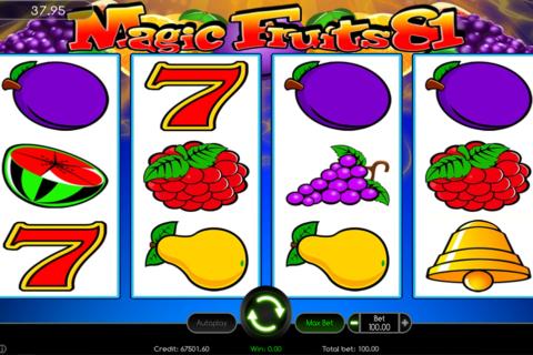 magic fruits  wazdan pacanele