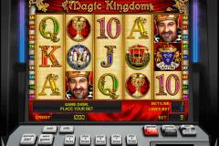 magic kingdom novomatic pacanele