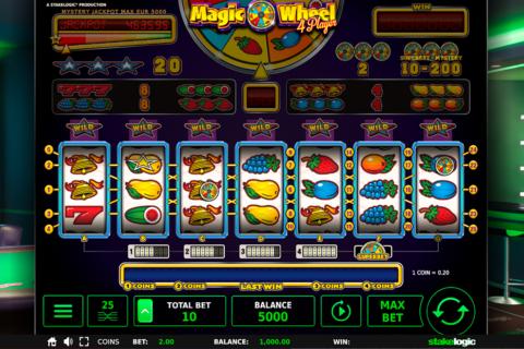 magic wheel  player stake logic pacanele