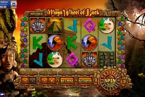 maya wheel of luck gamesos pacanele