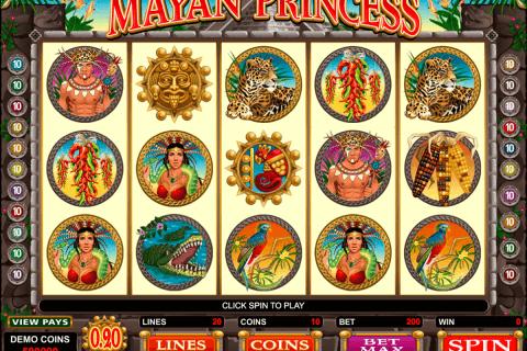 mayan princess microgaming pacanele