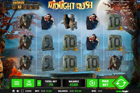 midnight rush stake logic pacanele