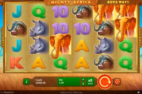 mighty africa  ways playson pacanele