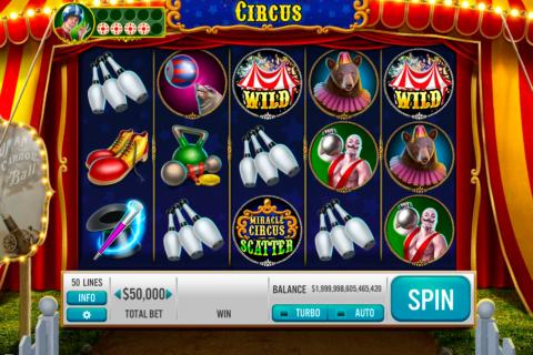 miracle circus platipus pacanele