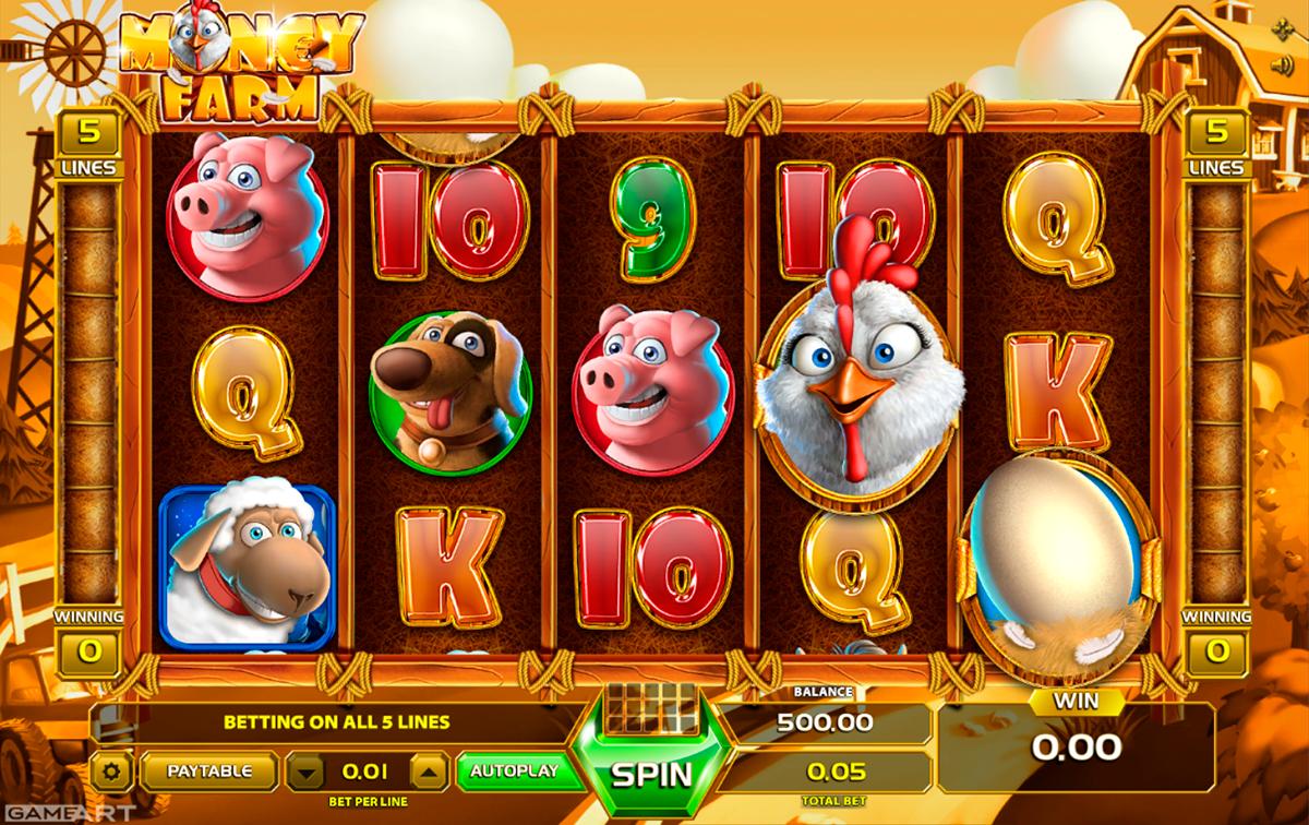 money farm gameart pacanele