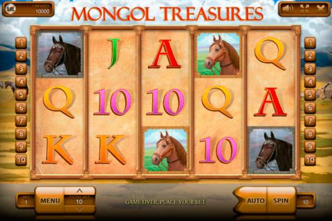 mongol treasures endorphina pacanele