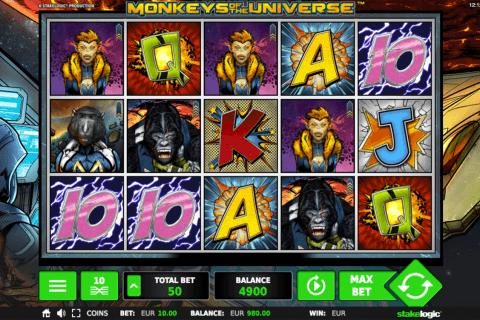 monkeys of the universe stake logic pacanele