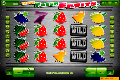 more fresh fruits endorphina pacanele
