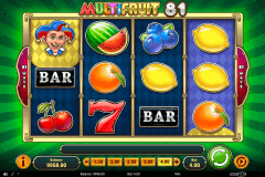 multifruit  playn go pacanele