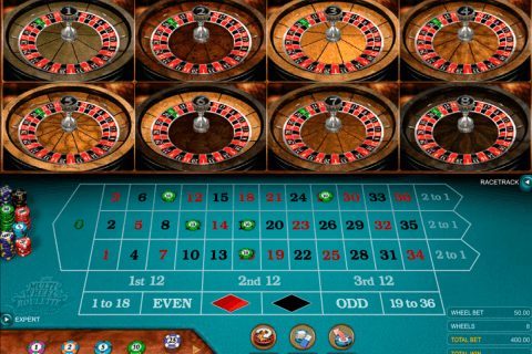 multiwheel european roulette gold series microgaming ruleta