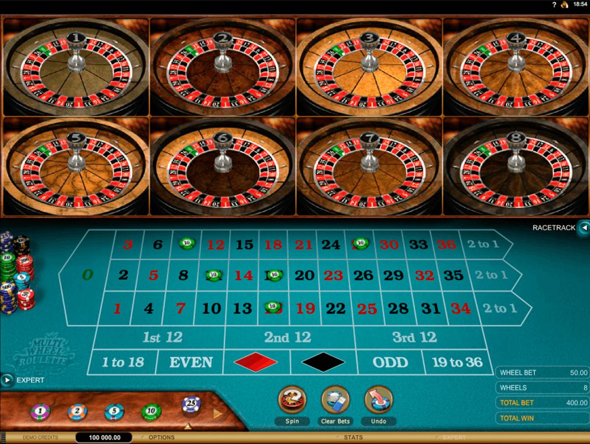 multiwheel european roulette gold series microgaming ruleta