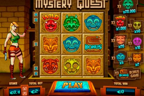 mystery quest pariplay pacanele