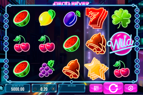 neon fever synot games pacanele