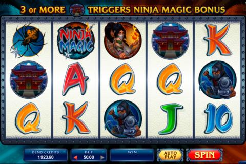 ninja magic microgaming pacanele