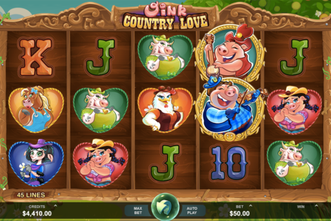 oink country love microgaming pacanele