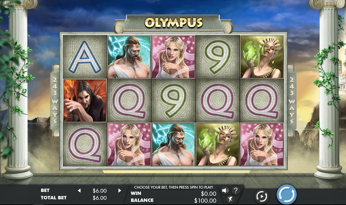 olympus genesis pacanele