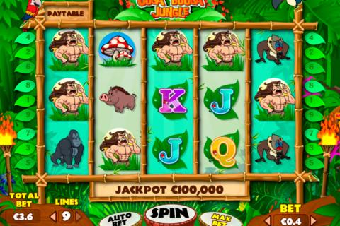 ooga booga jungle pariplay pacanele