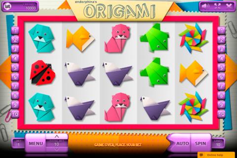 origami endorphina pacanele