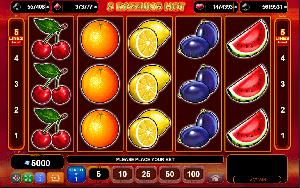 5 Dazzling Hot slot cu fructe