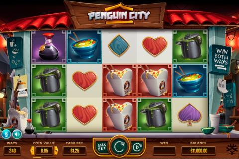 penguin city yggdrasil pacanele