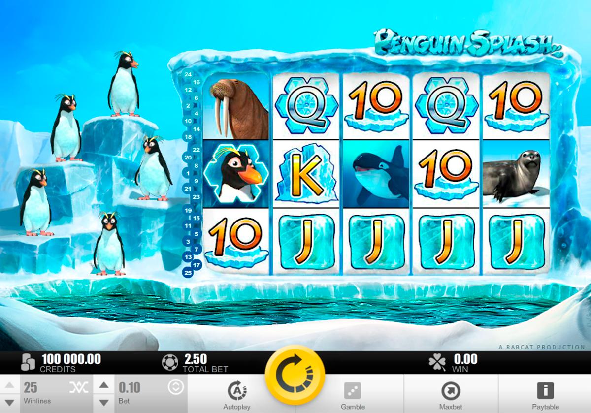 penguin splash rabcat pacanele