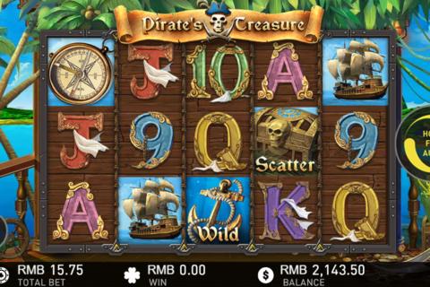 pirates treasure gameplay interactive pacanele