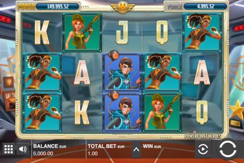 power force heroes push gaming pacanele