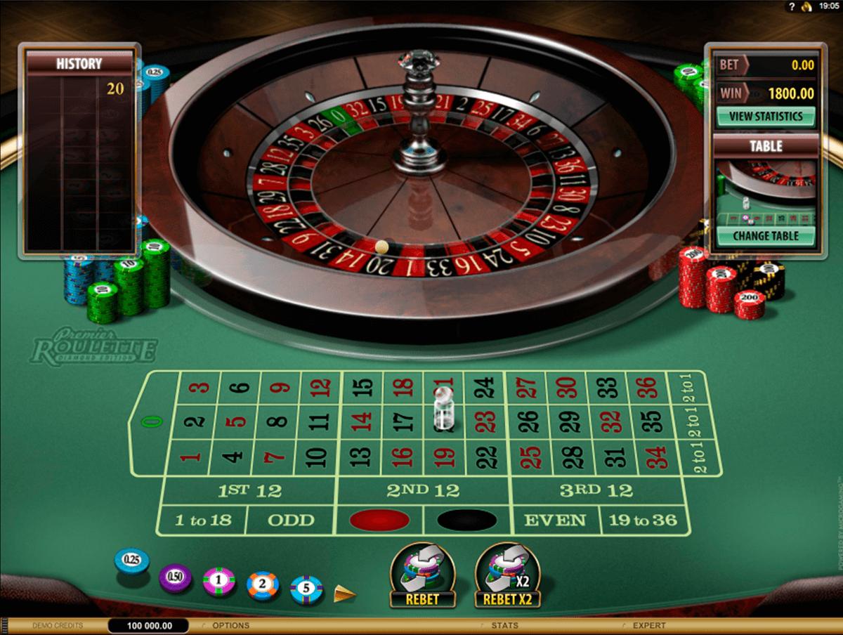 premier roulette diamond edition microgaming ruleta