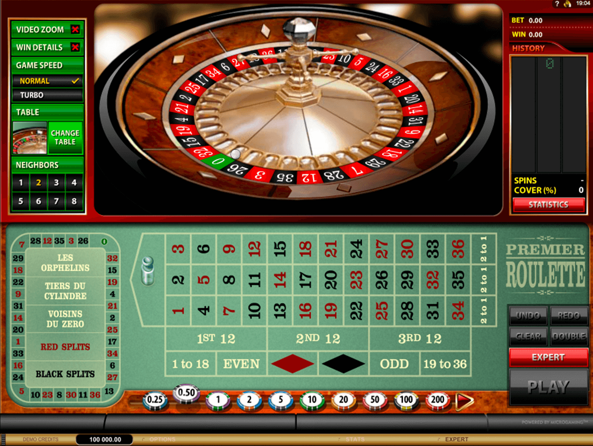 premier roulette microgaming ruleta