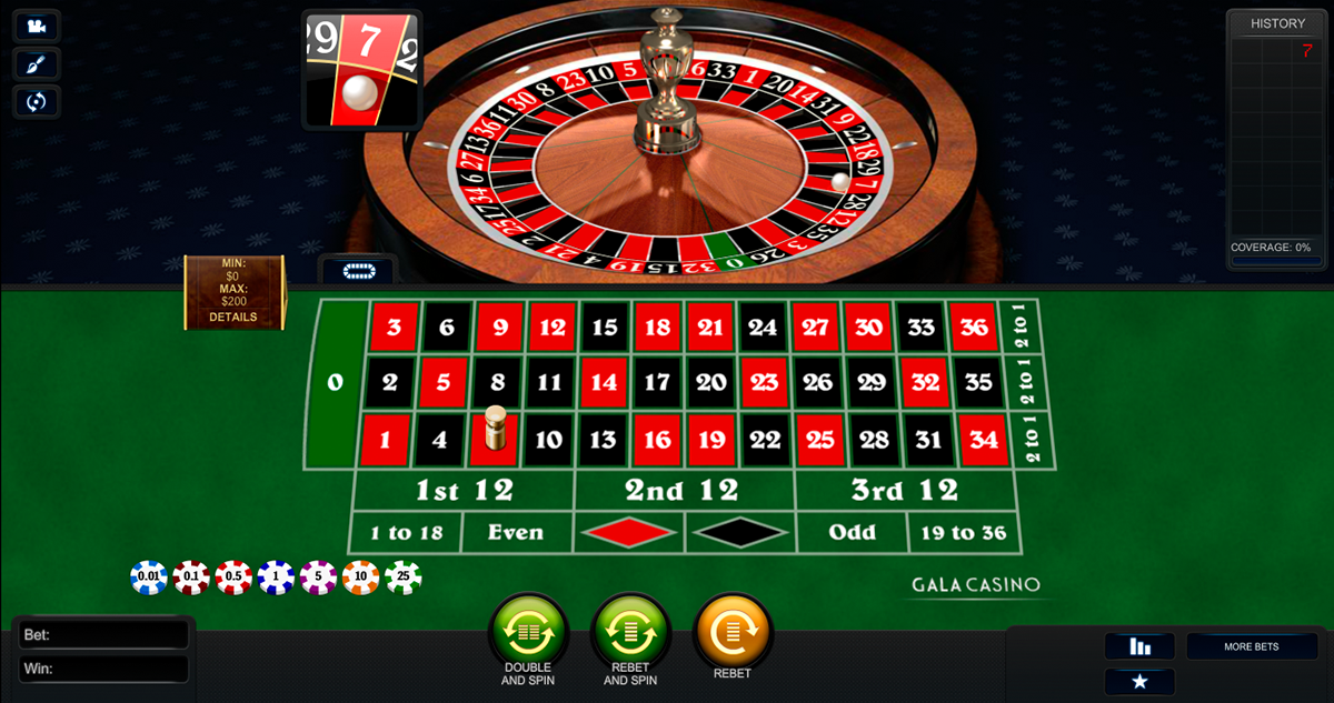 premium european roulette playtech ruleta