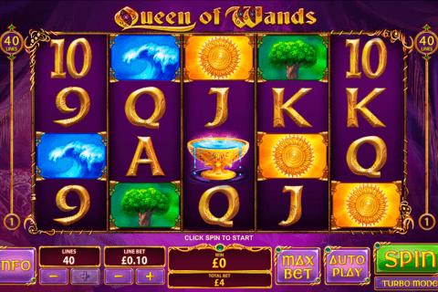 queen of wands playtech pacanele