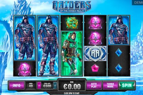 raiders of the hidden realm playtech pacanele