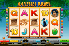 ramesses riches netgen gaming pacanele
