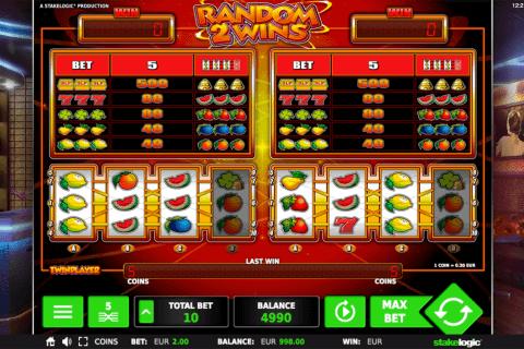 random  wins stake logic pacanele