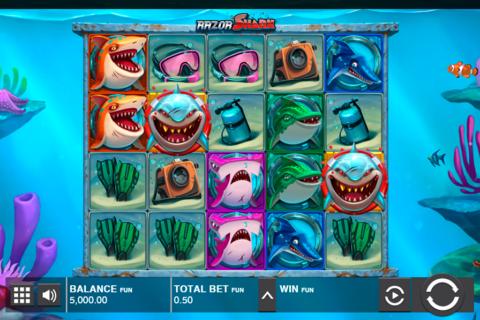 razor shark push gaming pacanele