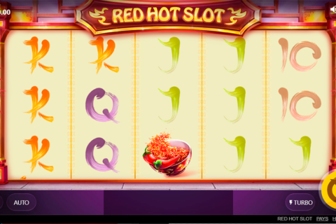 red hot slot red tiger pacanele