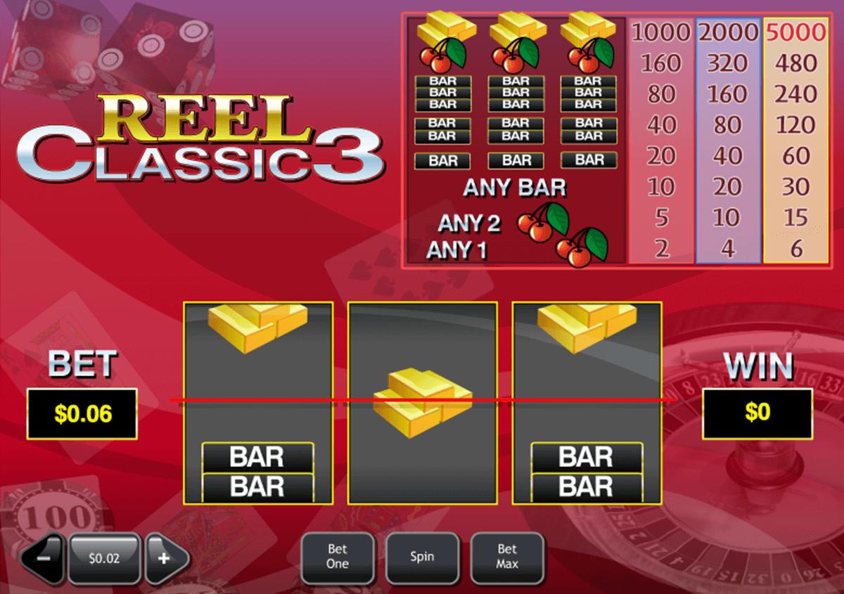 reel classic 3 playtech pacanele
