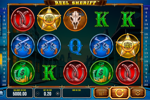 reel sheriff synot games pacanele